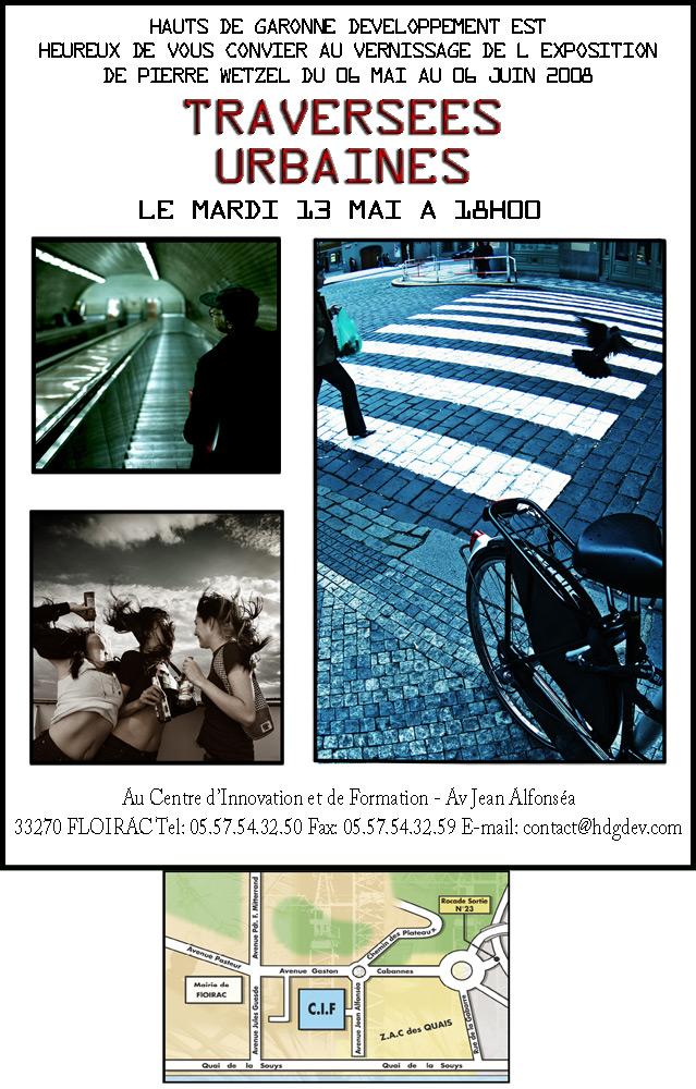 Exposition / Exhibition Traversées Urbaines