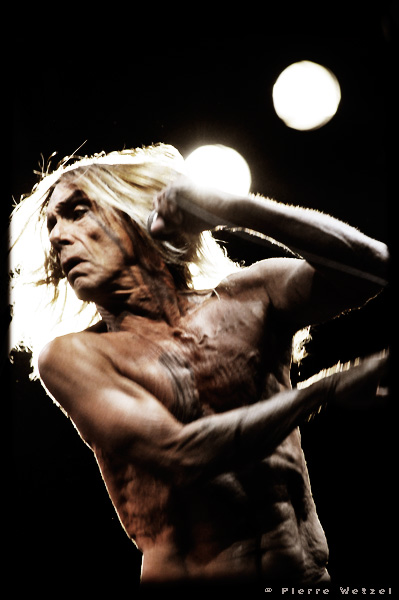 Iggy Pop and The Stooges - Garden Nef Party 2008