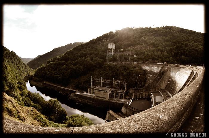 Le barrage du Chastang, Argentat, Corrèze