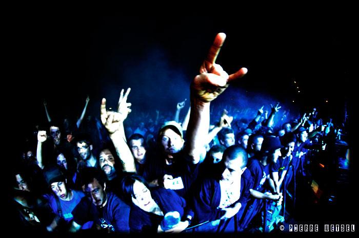 Concert de The Exploited - Free Music Festival 2008