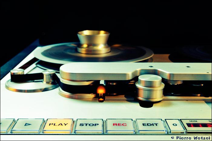 Le Studer A80 du studio de mastering Globe Audio