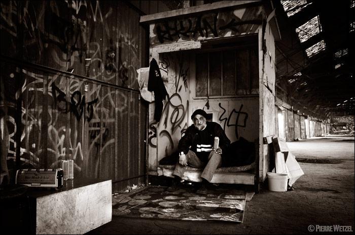 Bernard, Sans Domicile Fixe - Homeless man