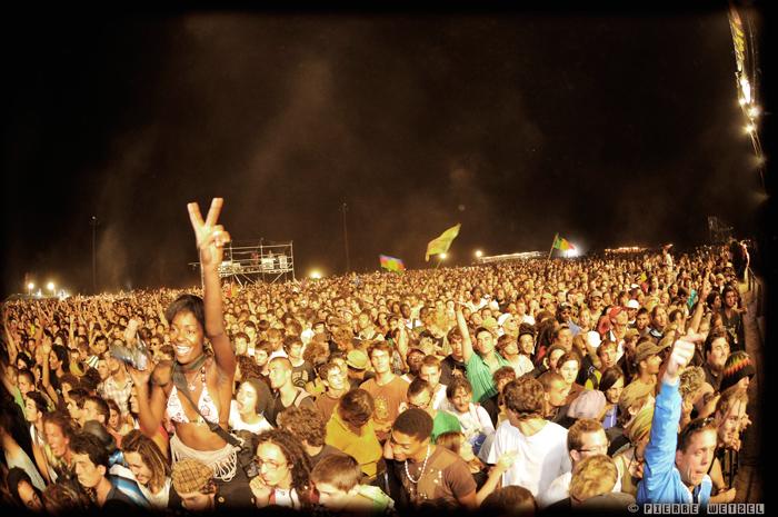 Le public du Reggae Sun Ska 2010