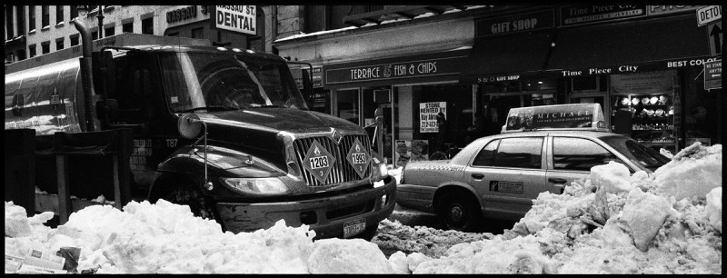 New york City truck