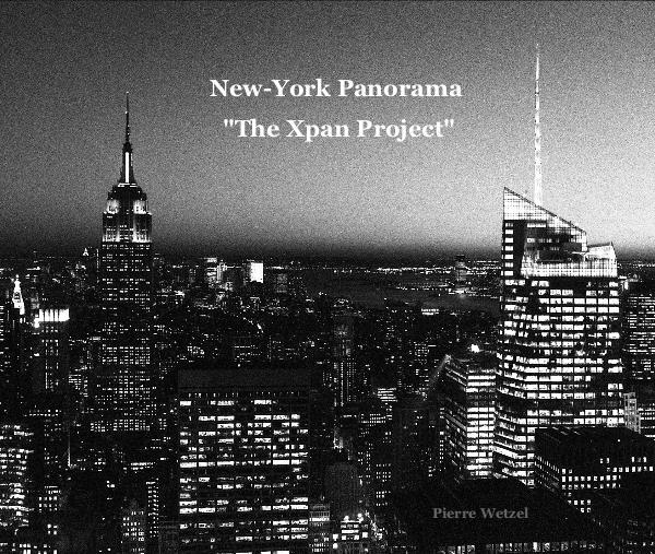 Livre photos panoramiques sur New-York par Pierre Wetzel